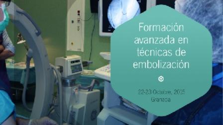 IAVANTE ofrece un taller sobre técnicas de embolización en su sede granadina