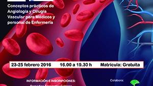 Curso sobre conceptos prácticos de Angiología y Cirugía Vascular para médicos y profesionales de Enfermería