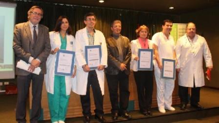 La Unidad de Angiología y Cirugía Vascular del Puerta del Mar recibe la acreditación de calidad de la Consejería de Salud