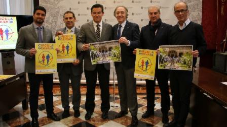 Presentado nuestro 35ª Congreso y la Marcha por la Salud Vascular en el Ayuntamiento de Granada