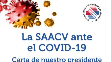 Carta del presidente de SAACV ante el COVID-19